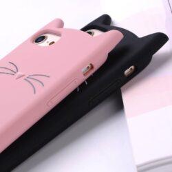 Étui de protectionpetit chat pour iPhone
