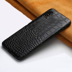 House Cuir Crocodile pour iPhone