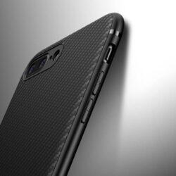Coque souple en fibre de carbone pour iPhone