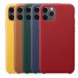 coque-cuir-pour-iPhone-11-Pro-Max-8-couleurs