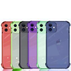 coque-de-couleur-silicone-protection-des-coins-iPhone-iZPhone