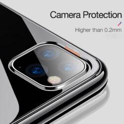 Etui transparent de qualité pour iPhone 11