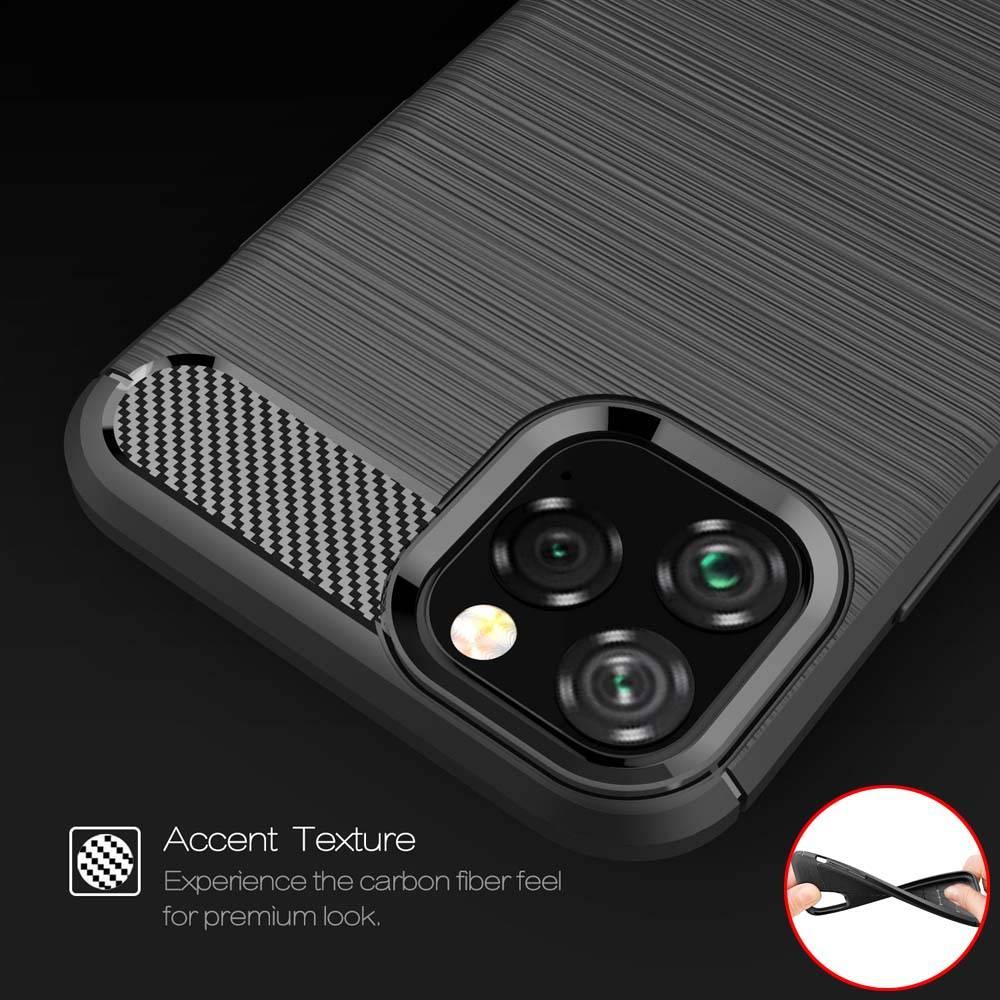 Coque de protection fibres de carbone pour iPhone