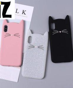 Étui de protection «petit chat» pour iPhone