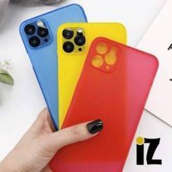 etui-de-protection-couleurs-transparent-TPU-silicone-antichoc-iZPhone