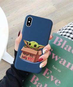 Coque iPhone bébé Yoda