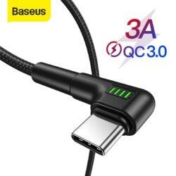 Câble Baseus reversible USB Type C