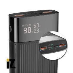 Batterie-externe-charge-rapide-Connecteur-Lightning-Micro-USB-Type-C-Batterie-20000-mAh-Affichage-LED-Support-PD-3.0-QC-3.0-QC-2.0-AFC-iPhone-Apple-iZPhone