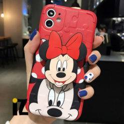 Coque-Minnie-Support-Relief-3D