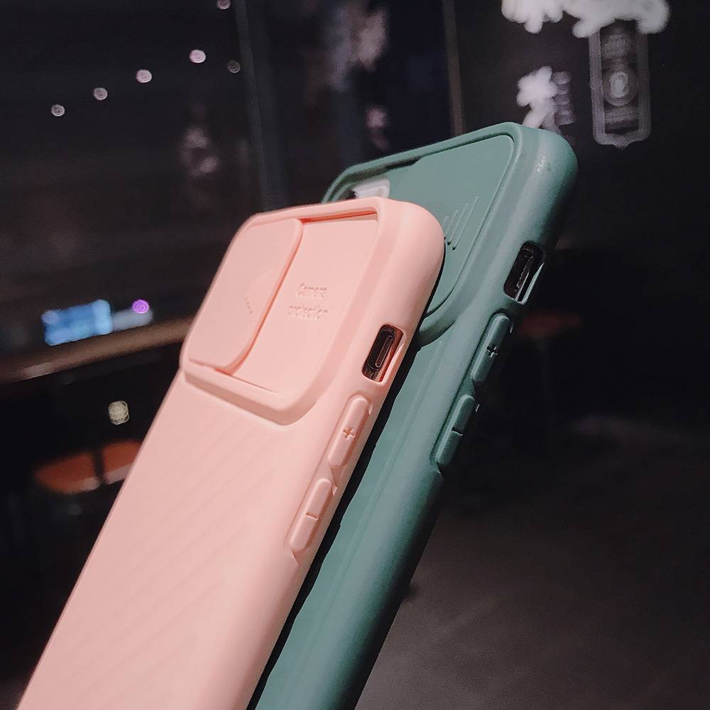 Coque Slide Protection Camera iPhone