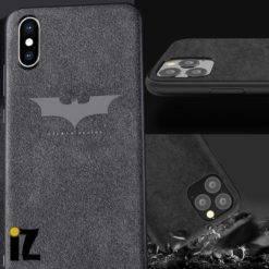 Etui-Coque-cuir-luxe-alcantara-batman-iZPhone