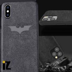 Étui Batman pour iPhone Sensation Luxe alcantara