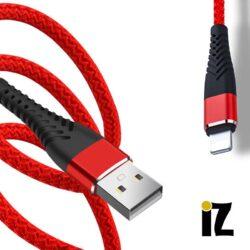 Cable Nylon iPhone Lightning vers USB