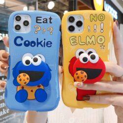Housse Elmo Cookie 3D iPhone