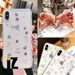 coque-fleur-sechee-etui-floral-veritable-fleur-protection-transparente-iPhone-iZPhone