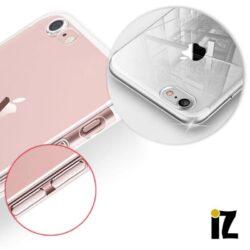 Coque invisible anti-poussière pour iPhone