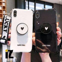 Coque bandoulière Love & Lucky pour iPhone