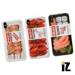 coque-produit-preemballe-sushi-barbecue-crustaces-iPhone-iZPhone