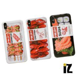 Coque sushi produit préemballé pour iPhone