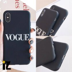 Étui de luxe Vogue pour iPhone
