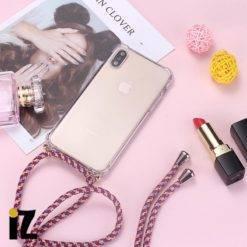 cordon-corde-coque-fille-transparent-protection-iPhone-avec-laniere-collier-transport-iZPhone