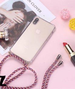 Coque transparente Cordon Fashion iPhone