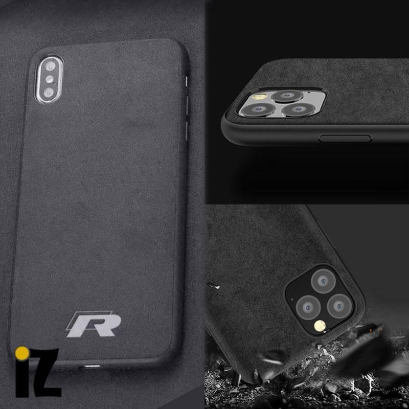 Étui Racing iPhone Mat Sensation Luxe alcantara