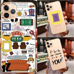 Coque iPhone Friends Perk Central