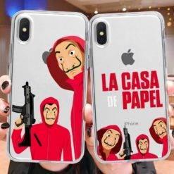 etui-bella-ciao-transparent-iPhone-serie-casa-de-papel-iZPhone