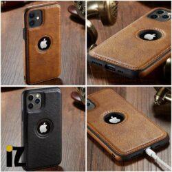 Étui cuir iPhone 11 Ultra mince