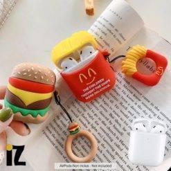 etui-mcdo-silicone-protection-AirPods-McDonald