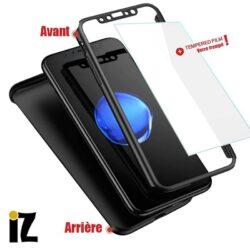 Protection avant et arrière pour iPhone
