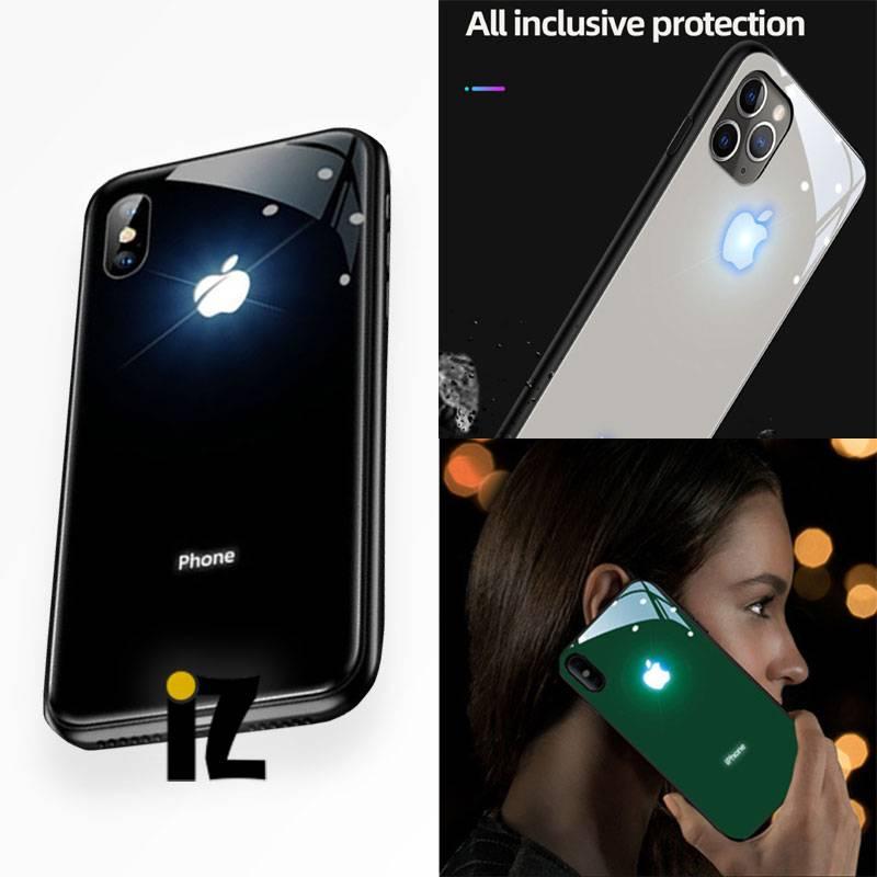 protection-iphone-logo-pomme-lumineux