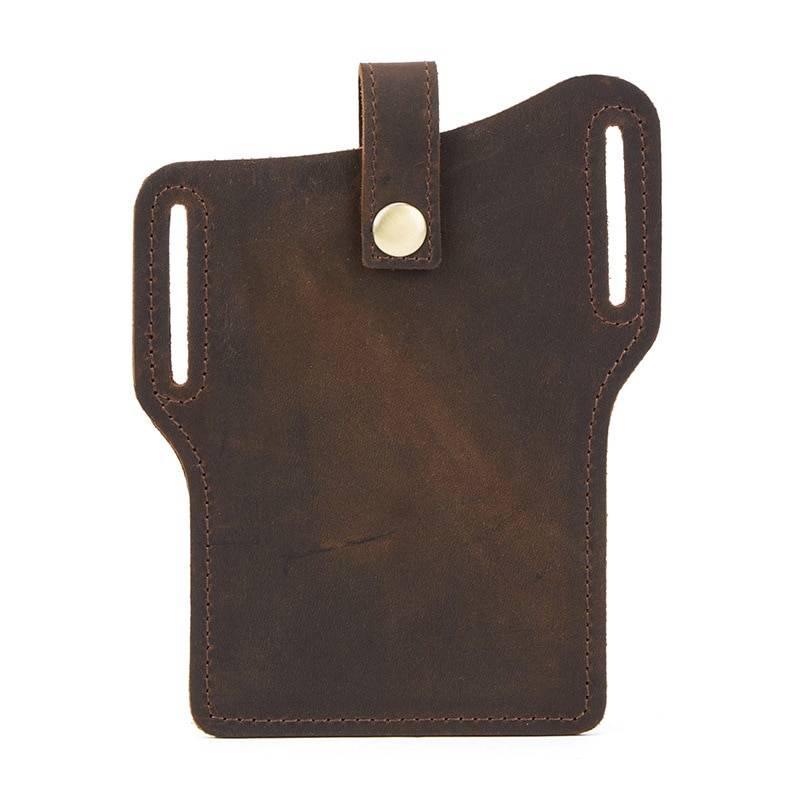 Pochette ceinture Retro 100% cuir véritable