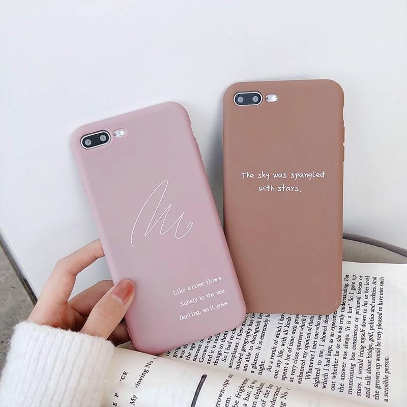 Coque message et inspiration pour iPhone