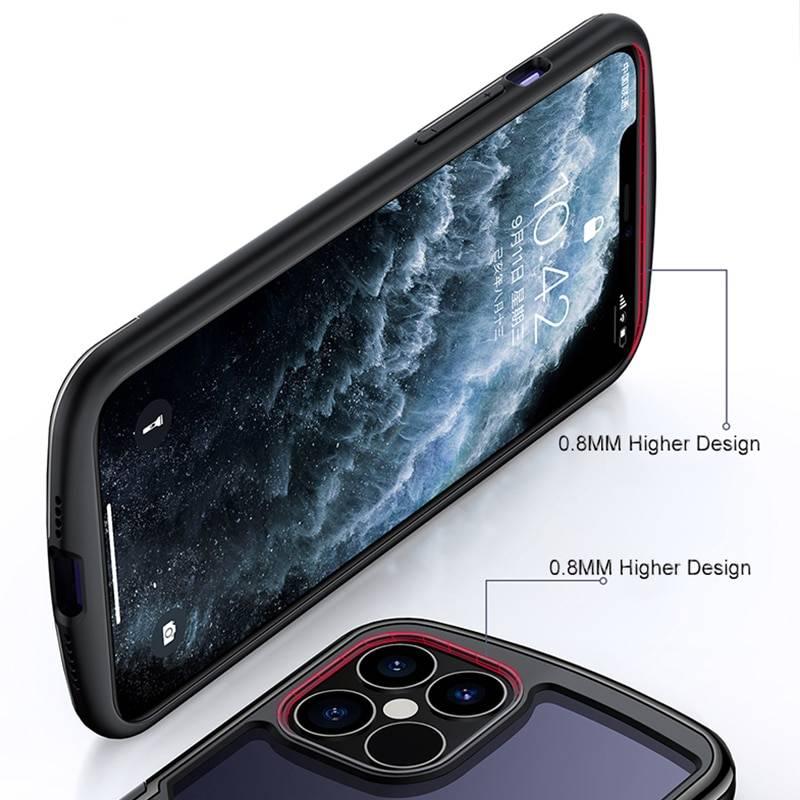 Coque iPhone 12 Pro Antichoc et transparente Haut de gamme