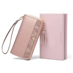 Pochette portefeuille soirée chic pour femme