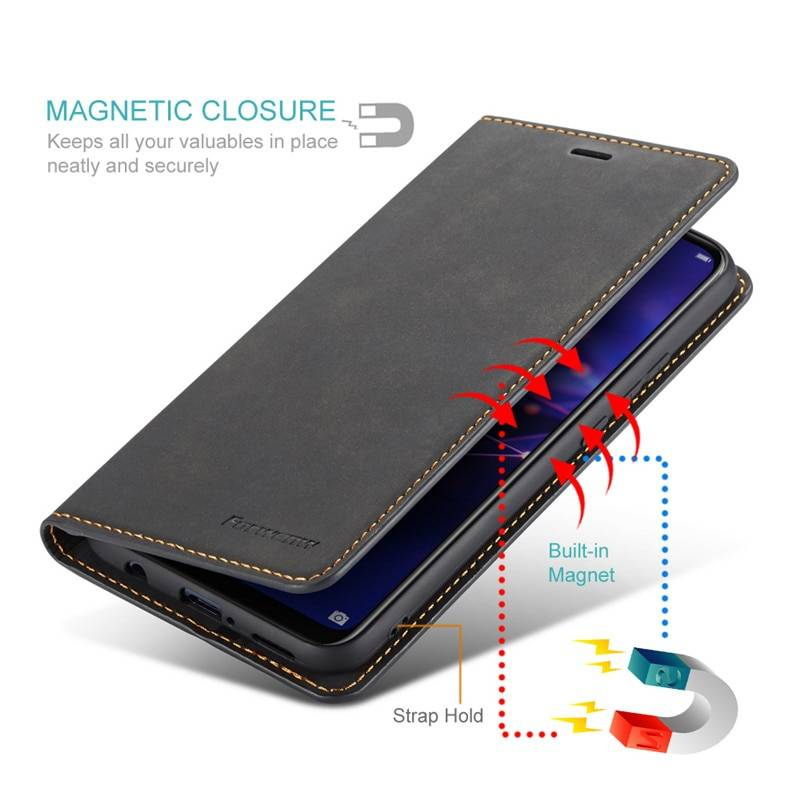 Coque magnétique Cuir pour iPhone