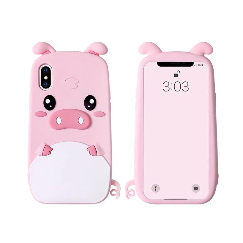 coque-iphone-cochon-3D