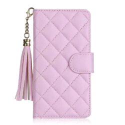 etui-cuir-rose-mode-iphone-12