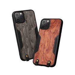 Coque téléphone en bois Véritable pour iPhone