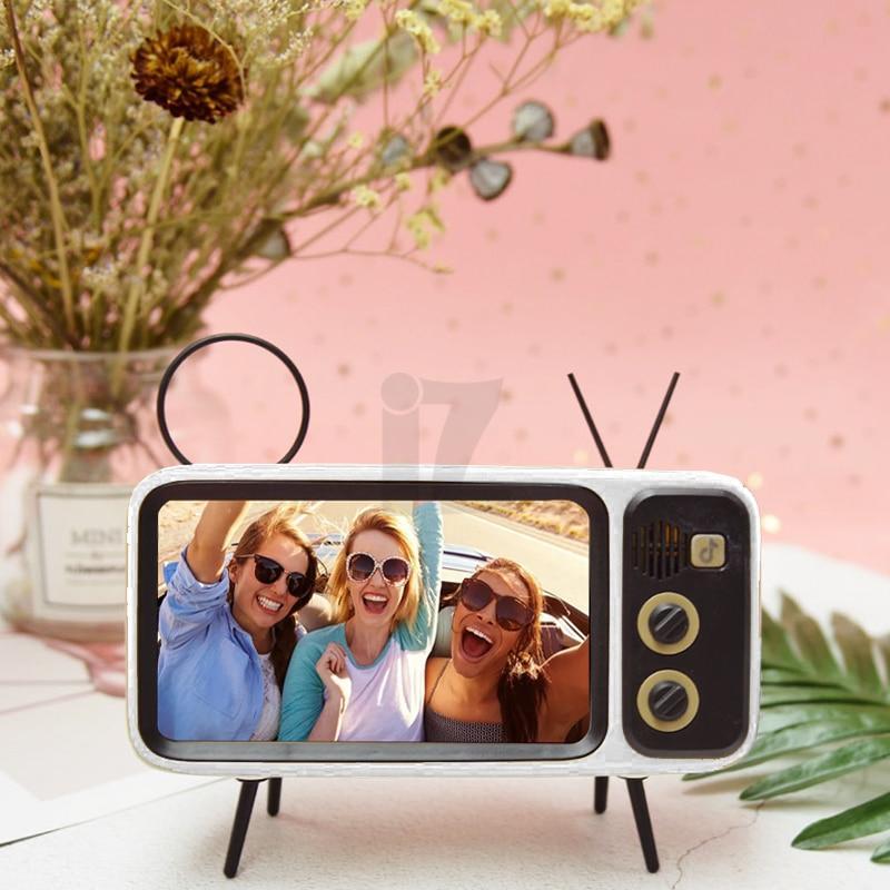 Support téléphone mobile Original style TV rétro