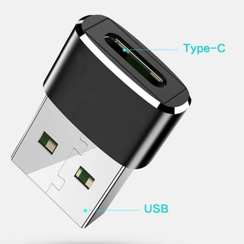 Convertisseur Adaptateur USB vers Type-C