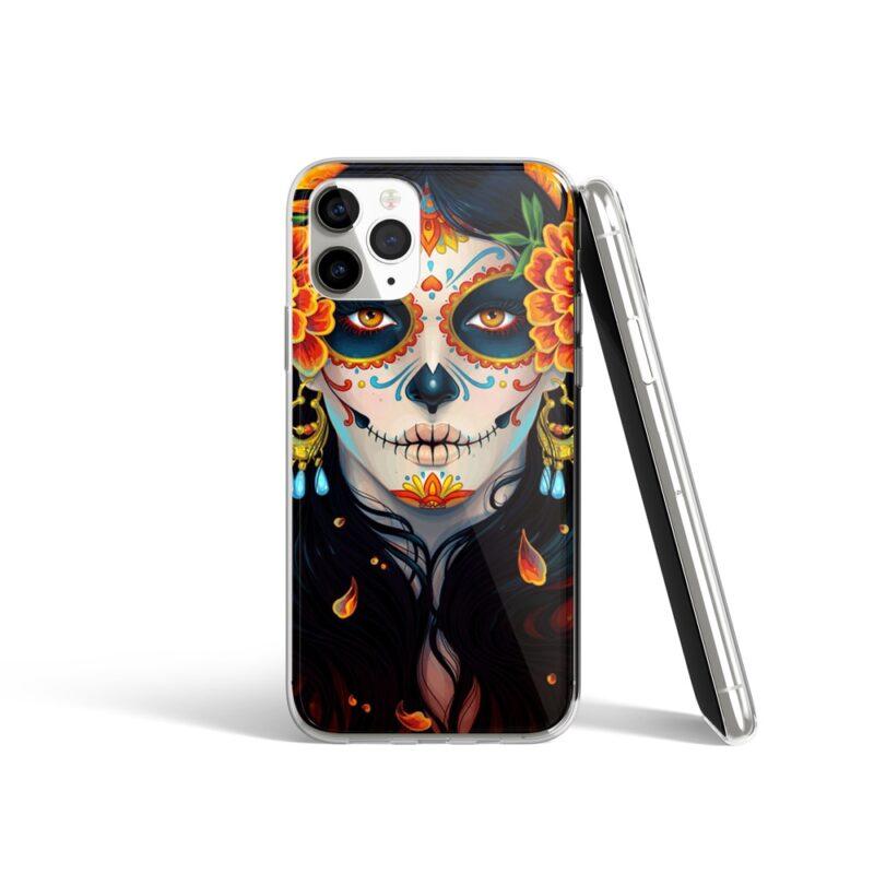 Coque iPhone Artistique avec Motif Crâne