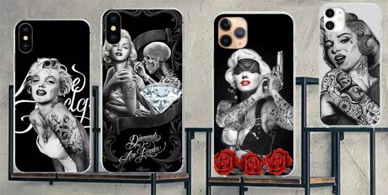 Coque-iPhone-marilyn-monroe-tatou