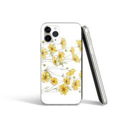 Coque iPhone avec Fleurs jaunes