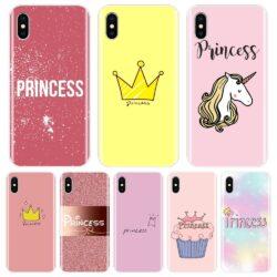 Coque Princesse pour iPhone