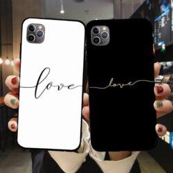 Coque Calligraphie Love