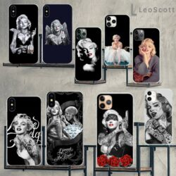Coque iPhone 12 Marylin Monroe