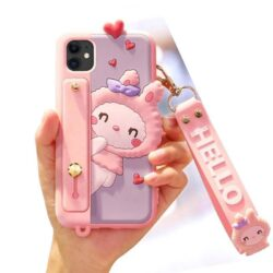 Coque Hello Fille Pastel iPhone 11